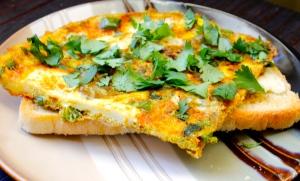 Omelette w/ Veg & Herbs