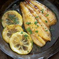 Grilled Fish w/ Lemon