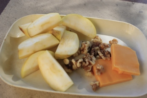 Apple, Cheddar & Walnuts